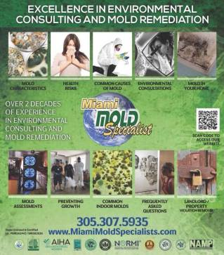 certified mold remediation Miami Lakes